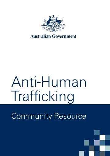 Anti-Human Trafficking Community Resource - Attorney-General's ...