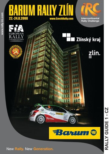 Rally Guide 1 - Barum Czech Rally Zlín