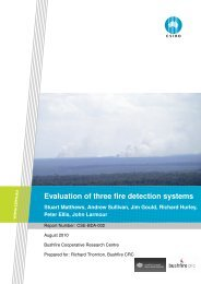 Fire detection report - Attorney-General's Department