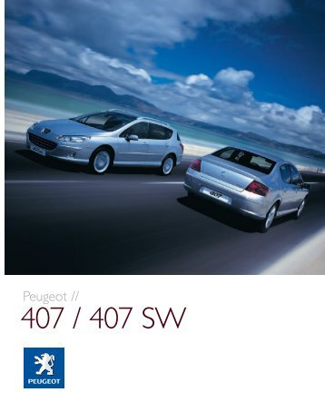 407 / 407 SW - Van Leasing and Car Leasing