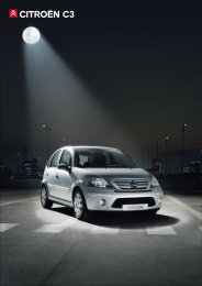 CITROËN C3 - Van Leasing and Car Leasing