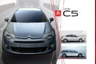 citroën c5 - Van Leasing and Car Leasing