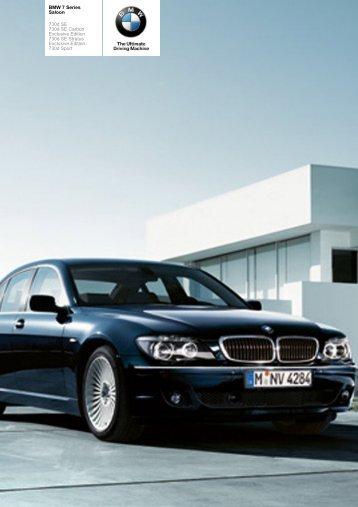 The BMW 7 Series 730d Saloon - Sunriseleasing.co.uk