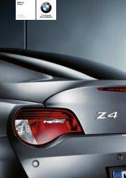 The BMW Z4 3.0si Coupé - Sunriseleasing.co.uk
