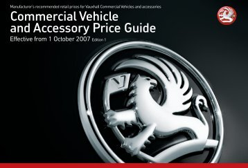 Commercial Vehicle and Accessory Price Guide - Van Leasing and ...