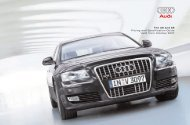 The A8 and S8 Pricing and Specification Guide Valid from October ...