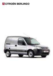 CITROËN BERLINGO - Van Leasing and Car Leasing