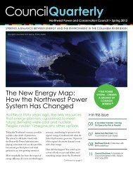 Spring 2012 - Northwest Power & Conservation Council