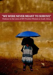 we were never meant to survive - People's Health Movement