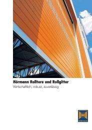 Hörmann Rolltore und Rollgitter - Servus Sicherheitstechnik