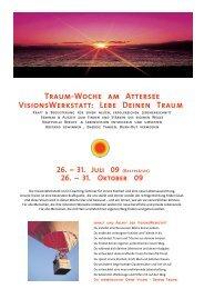 Traum-Woche am Attersee VisionsWerkstatt: Lebe ... - Servus.at