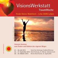 VisionsWerkstatt-TraumWoche - Servus.at