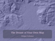 The Dream of Your Own Map - Servus.at
