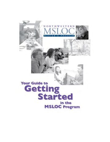 Resources for Getting Started - School of Education & Social Policy ...