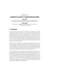capítulo 22 garantía de calidad y acreditación en españa - Sespas