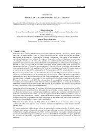 Informe SESPAS Sevilla 1999 1 OBJETIVO 24 MEJORAR LA ...