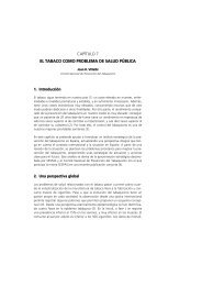 capítulo 7 el tabaco como problema de salud pública - Sespas
