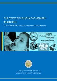 THE STATE OF POLIO IN OIC MEMBER COUNTRIES - Statistical ...