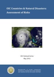 OIC Countries & Natural Disasters: Assessment of Risks - Statistical ...