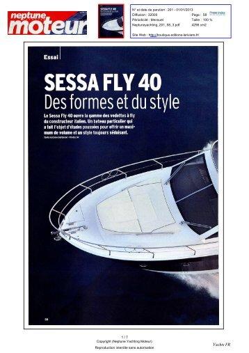 SESSA FLY 40 - Sessa Marine