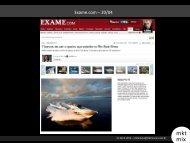 Relatório retorno de mídia WEB Sessa Marine