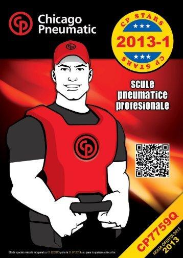 Promotie scule pneumatice Chicago Pneumatic