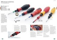 Wiha torque screwdrivers.