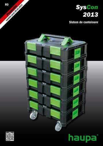 HAUPA - sisteme de containere - Sesto International SRL