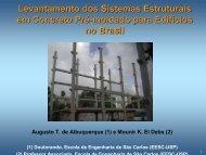 Levantamento dos Sistemas Estruturais em Concreto ... - SET - USP