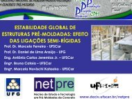 Estabilidade Global de Estruturas Pré-Moldadas: Efeito das ... - SET