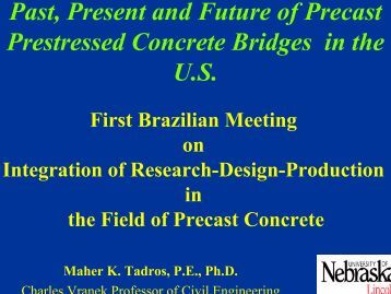 Past, Present and Future of Precast Prestressed Concrete ... - SET