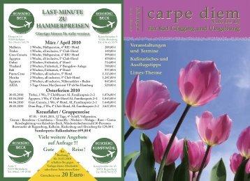 Bad Gögging und Umgebung - carpe diem magazine