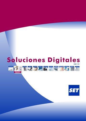 Catálogo Soluciones Digitales - Set