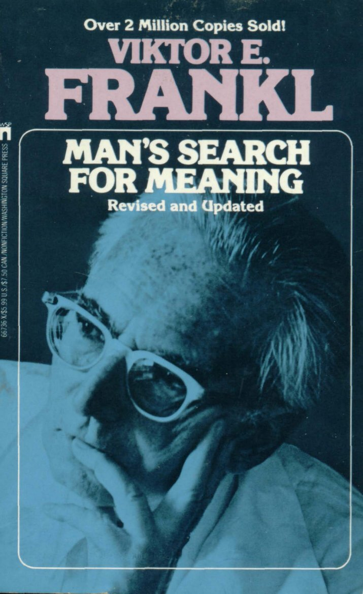 a review of viktor frankls autobiography mans search for meaning