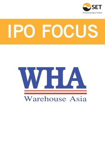 Stock Focus : WHA ต.ค.55