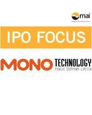 ipo focus : mono พ.ค. 56
