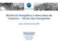 SECTOR DOS TRANSPORTES - SETatWork - Sustainable Energy ...