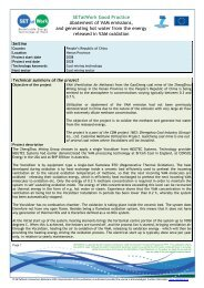 SETatWork Good Practice Abatement of VAM emissions, and ...