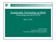 Slides - SETatWork - Sustainable Energy Technology at Work