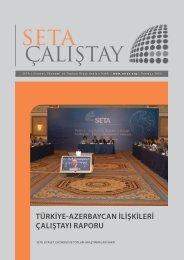 türkiye-azerbaycan ilişkileri çalıştayı raporu - SETA