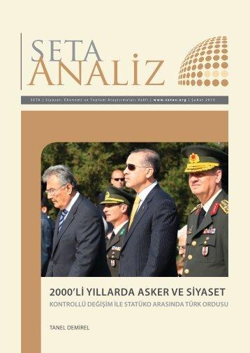 2000'li yıllarda asker ve siyaset - SETA