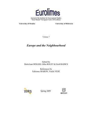 Europe and the Neighbourhood - SETA