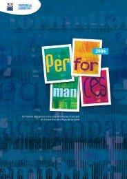 Performances 2006 - Carif-Oref