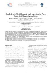 Bond-Graph Modelling and Indirect Adaptive Fuzzy Control of ...