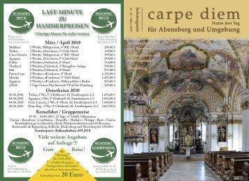 Abensberg und Umgebung - carpe diem magazine