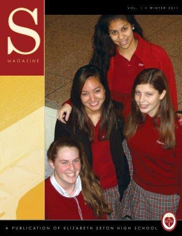 apublicationofelizabe - Elizabeth Seton High School