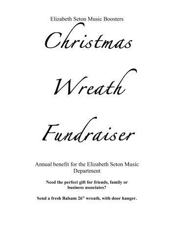 Christmas Wreath Fundraiser - Elizabeth Seton High School