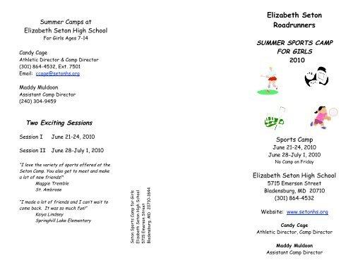 Elizabeth Seton Roadrunners - Elizabeth Seton High School