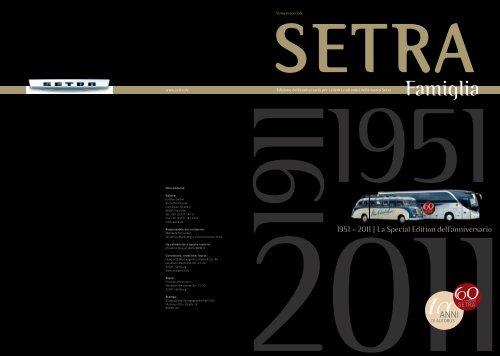 Edizione speciale Anniversario (italiano) - Setra