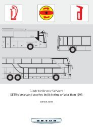 Download Guide for Rescue Services - Setra